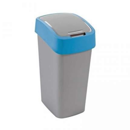 Контейнер для мусора FLIP BIN 50л голубо