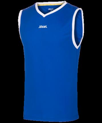 Майка Jogel JBT-1020-071, синий/белый, S INT