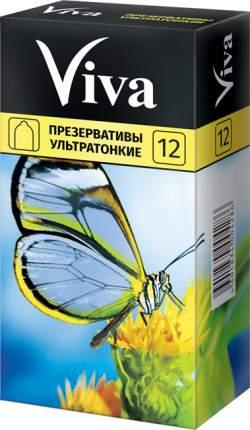 Презервативы Viva ультратонкие 12 шт.