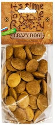 Лакомство для собак Crazy Dog Хрустящие медальоны, для всех пород, кролик, 91 г