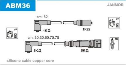 Комплект проводов зажигания JANMOR ABM36