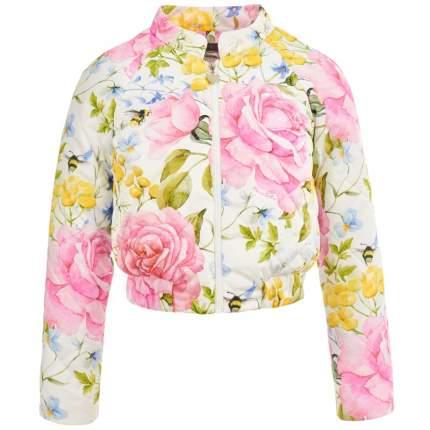 Бомбер Королевские розы Piccino Bellino Розовый р.146