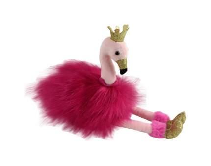 Мягкая игрушка птица Chuzhou Greenery Фламинго розовый с золотыми лапками и клювом M093