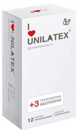Презервативы Unilatex Ultra Thin на силиконовой основе