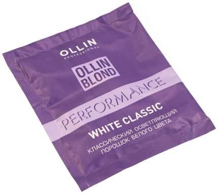 Осветлитель для волос Ollin Professional WHITE Classic BLOND POWDER 30 г