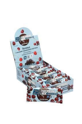 """Печенье с высоким содержанием протеина ProteinRex """"шоколад-вишня"""", 12 шт по 50 гр"""