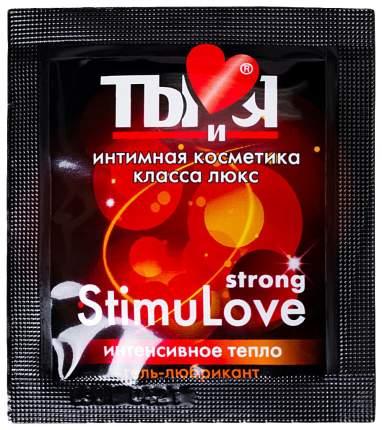 Гель-смазка Биоритм Stimulove Strong в одноразовой упаковке 4 г