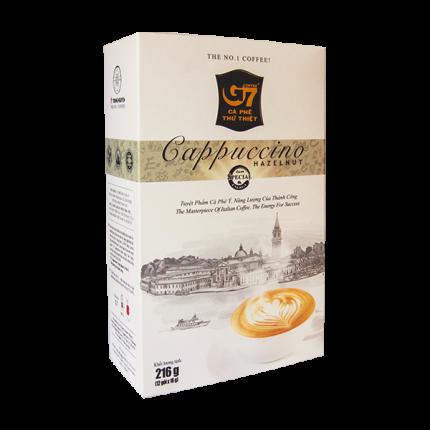 Кофе вьетнамский растворимый G7 капучино лесной орех 3в1
