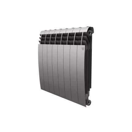 Радиатор биметаллический Royal Thermo BiLiner Silver Satin 574x640