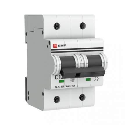 Автоматический выключатель EKF mcb47125-2-125D