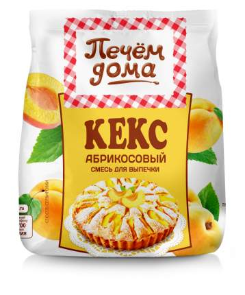 Смесь для выпечки  Печем Дома кекс абрикосовый 300 г