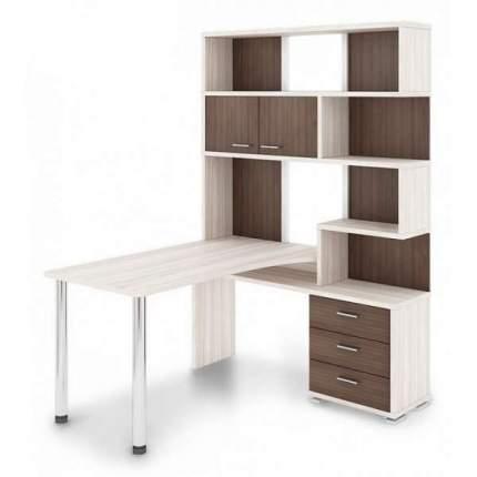 Компьютерный стол Мэрдэс СР-420/150 MER_SR-420-150_KSHK-PRAV, карамель/шамони