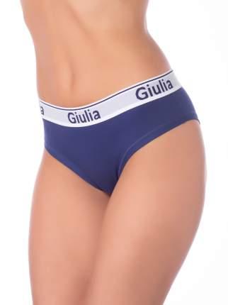 Трусы женские Giulia COTTON SLIP синие L