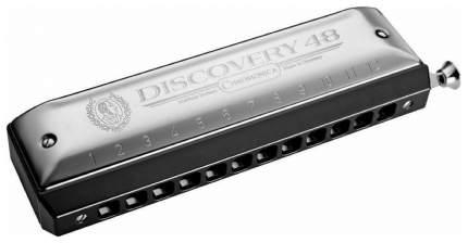 Губная гармоника хроматическая HOHNER Discovery 48