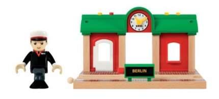 Железнодорожная станция деревянной железной дороги Brio 33578