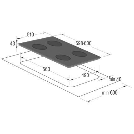 Встраиваемая варочная панель индукционная Gorenje IT641-ORA-W White
