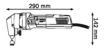 Сетевые ножницы Bosch GNA 75-16 601529400