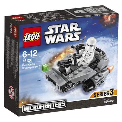Конструктор LEGO Star Wars Снежный спидер Первого Ордена (75126)