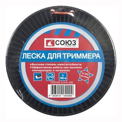 Леска для триммера Союз ТЛ3535-2.4-0-100