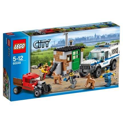 Конструктор LEGO City Police Полицейский отряд с собакой (60048)
