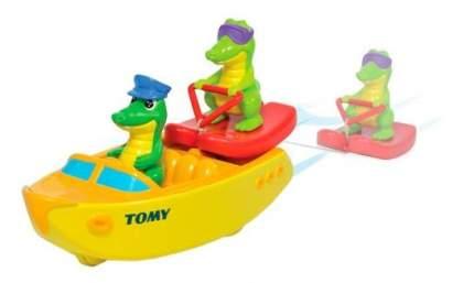 """Игрушка для ванной Tomy """"Крокодил на водных лыжах"""""""