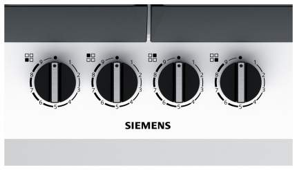 Встраиваемая варочная панель газовая Siemens EC6A2PB90R White