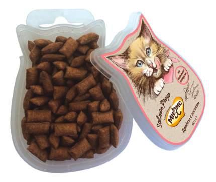 Лакомство для кошек МНЯМС Salmon Drops с лососем, 60г