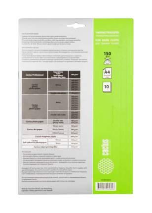 Бумага Cactus photo paper Cs-Td15010 Белый