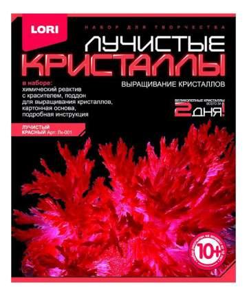 Набор для выращивания кристаллов Lori Лучистые Кристаллы красный