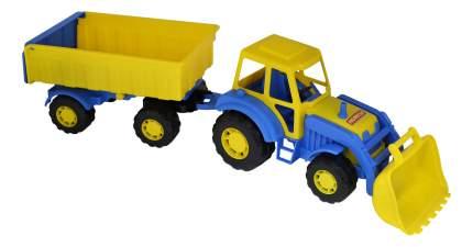 Трактор с прицепом и ковшом №1 Полесье Алтай