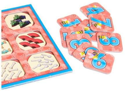 Настольная игра Tactic Учим Цифры,числа и счет