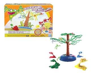 Семейная настольная игра Mattel inc Летающие лягушки