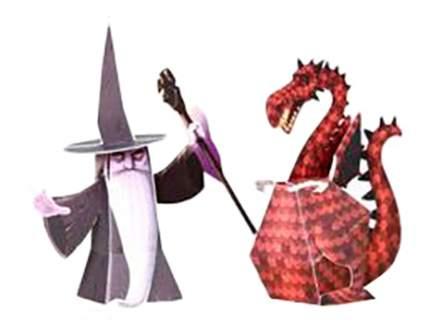 Оригами Djeco Драконы и химеры
