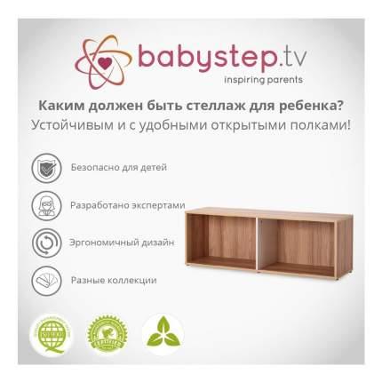 Стеллаж для хранения игрушек Babystep Праздник 400 горизонтальный