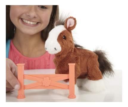 Интерактивное животное FurReal Friends Ходячий пони коричневый