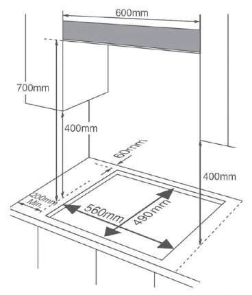 Встраиваемая варочная панель газовая Midea MG697TGW White