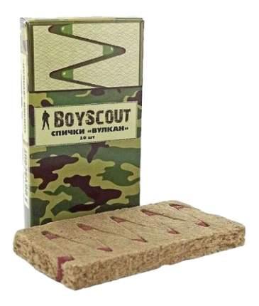 Средство для розжига BoyScout Спички Вулкан 60 мм 10 шт