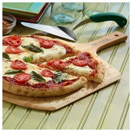 Лопатка Big Green Egg Pizza Peel PSSERVER Зеленый, серебристый