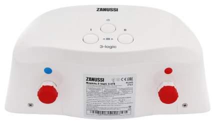 Водонагреватель проточный Zanussi 3-logic 5.5 T (кран) white