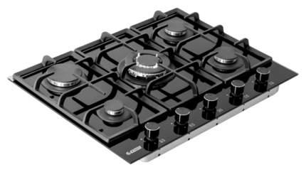 Встраиваемая варочная панель газовая Exiteq PFH 750 STG-E Black