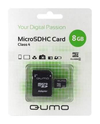 Карта памяти QUMO Micro SDHC QM8GMICSDHC4 8GB