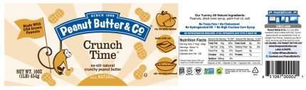 Арахисовая паста Peanut Butter&Co crunch time 454 г