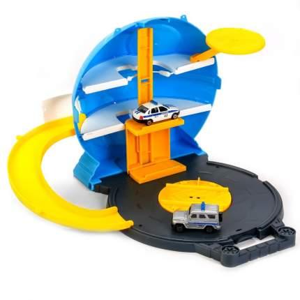 Игровой Набор Полиция шар Парковка с 2 машинками Технопарк a129-h06049-r