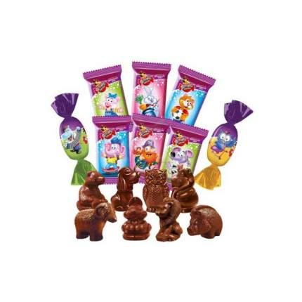 Конфеты Славянка детский сувенир классическая шоколадные 350 г