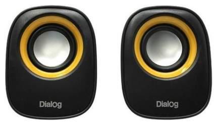 Колонки 2.0 Dialog Colibri AC-06UP Черные