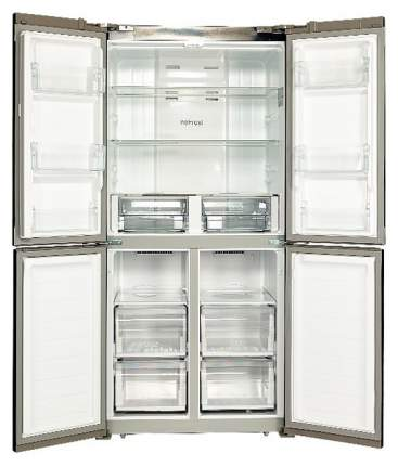 Холодильник Hiberg RFQ-490DX NFGS Black