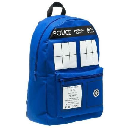 Городкой рюкзак Доктор Кто Тардис синий