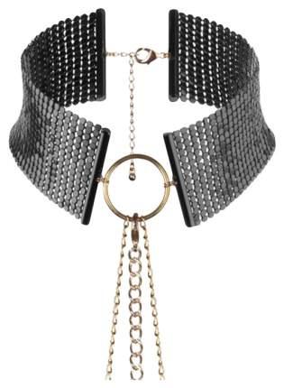 Ошейник Bijoux Indiscrets Desir Metallique Collar Black на цепях черный