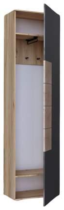 Платяной шкаф Любимый Дом LD_97019 25х59х215, кашемир/дуб золотой