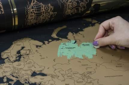 Карта мира PROFFI TRAVEL PH9398 (со стирающимся слоем)